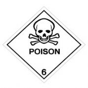 Hazard safety sign - Poison (6) 057